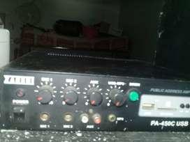 Se vende amplificador  de sonido sensillo