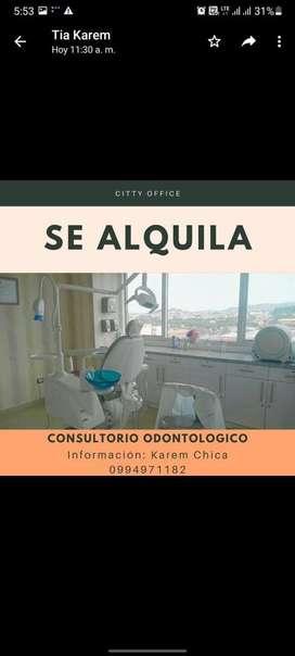 Se alquila consultorio odontologico