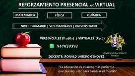 REFORZAMIENTO PRESENCIAL Y/O VIRTUAL