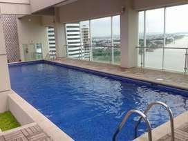 De Oportunidad Se vende Suite amoblada en Edificio Riverfront Puerto Santa Ana, sector exclusivo de Guayaquil