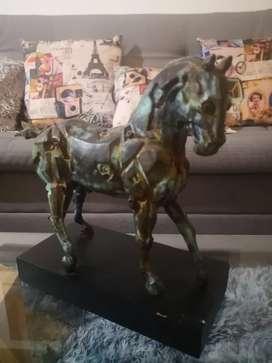 Escultura en Bronce Caballo-Raúl Bulla