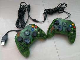 Controles Xbox Clasico Verdes Muy Hermos