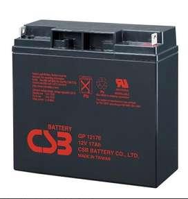 Bateria Csb 12v 17ah Referencia Gp12170