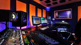 Estudio de grabación sala de ensayo