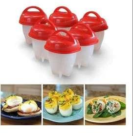 Gratis Envio Silicona Egg Boil - Cocinero de Huevo Silicona Tv - Hervidor