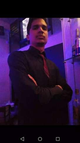Bartender, barman para eventos o contrato