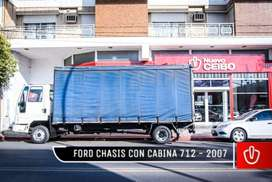 FORD CHASIS C/CABINA CARGO 712