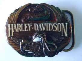 Hebilla, Chapa Original Harley Davidson