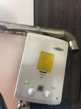 Calentador gas - pilas