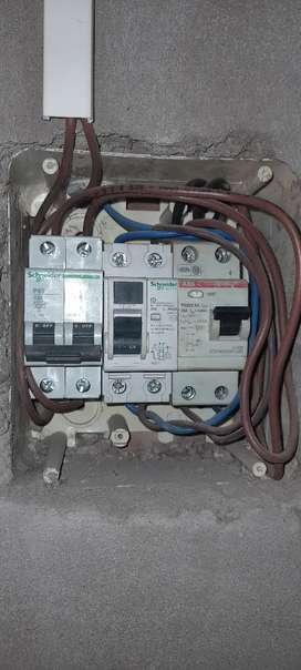 Electricista de obra, domiciliario y comercial
