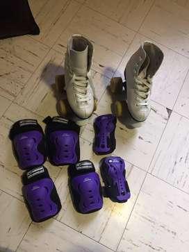 patines niña 4 ruedas profesionales