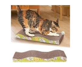 Rascador Gatos Cartón Corrugado Anti Estrés