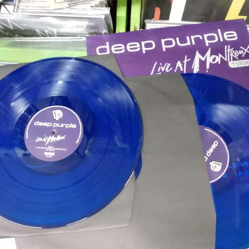 Vinilo color de Deep Purple 0