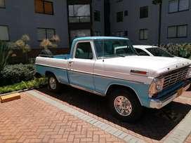 Ford 100 1967 Restaurada Unico Dueño