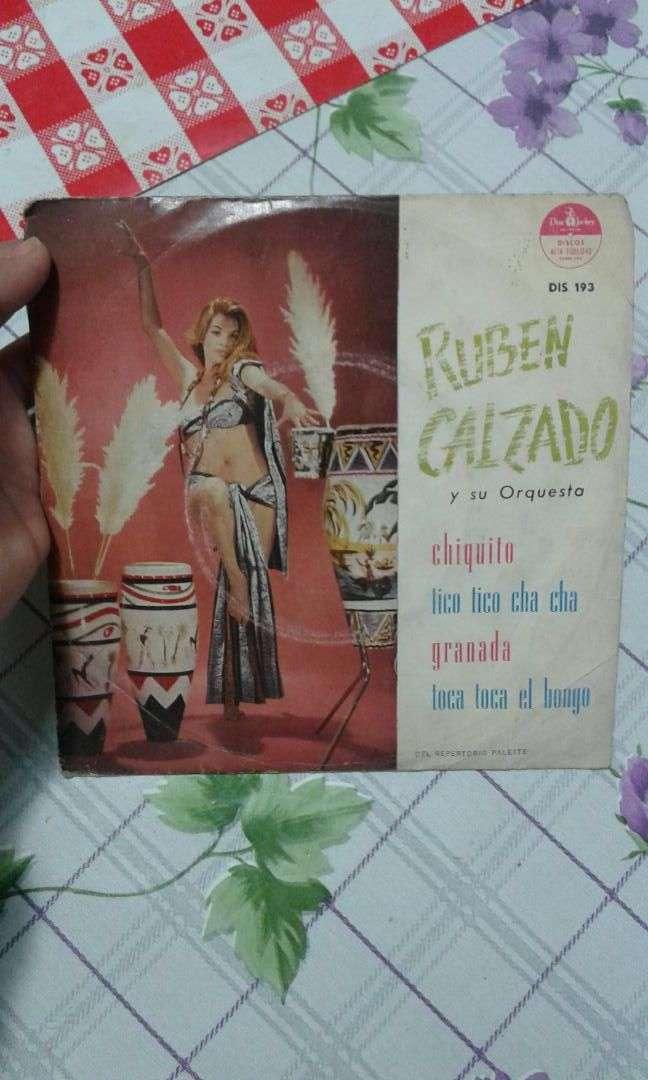 Lp/vinilo RUBEN CALZADO 0