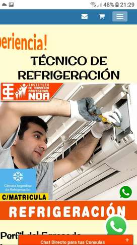 Reparación / instalación y mantenimiento de aire acondicionado