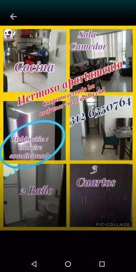Apartamento conjunto cerrado los azafranes