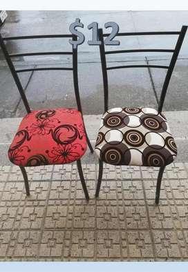 sillas al mayor y detal