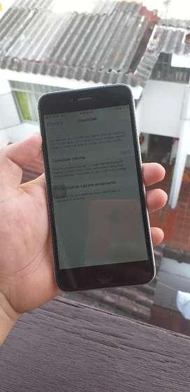 Vendo iphone 6 plus de 64 GB sin huella