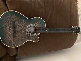 Vendo guitarra acustica como nueva