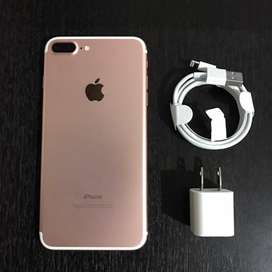 Iphone 7 plus de 32 gb rosado