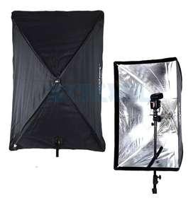 SOFTBOX DE 60x60-60-90 TIPO SOMBRILLA PARA ILUMINACION FOTOGRAFICA