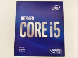 Remato! Procesador Intel Core i5 10400F Hexa-Core Décima-gen
