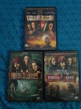 Trilogía Piratas Del Caribe