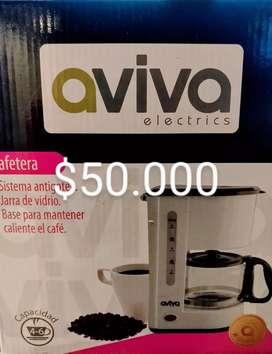 Cafetera eléctrica AVIVA NUEVA ver perfil otras cosas