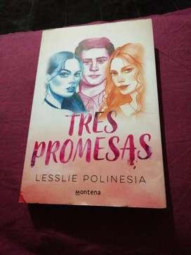 Vendo libro tres promesas