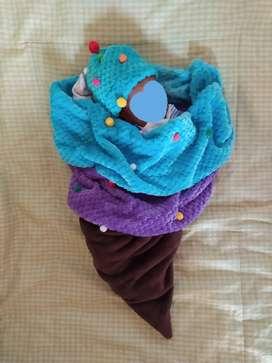 Disfraz helado bebé recién nacido