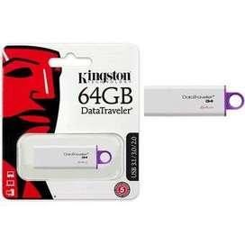 KINGSTON MEMORIA USB  64GB  y 128 GB