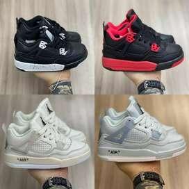 Nike jordan retro 04 niño