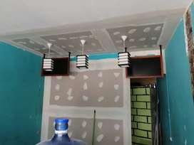 Operario en drywall