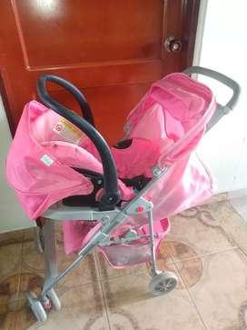 Coche con porta bebé - PRIORI DISNEY