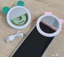 Mini Aro de Luz para celular. Recargable