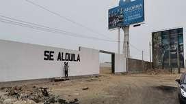 SE ALQUILA LOCAL COMERCIAL PANAMERICANA SUR KM. 34.5 LURIN