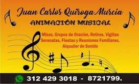ANIMACIÓN MUSICAL, NOVENAS NAVIDEÑAS