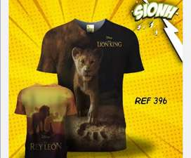 Espectaculares camisetas estampadas