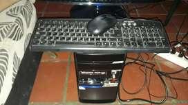 Computador de mesa full estado 4gb de ram disco duro de 320gb y hermosa pantalla Samsung 19 pulgadas