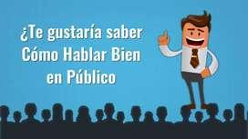 MASTER CLASS EN ORATORIA Y ALTO DOMINIO DE LA PALABRA