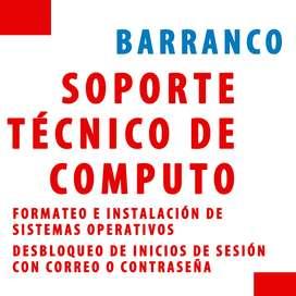 SOPORTE TÉCNICO DE COMPUTADORAS