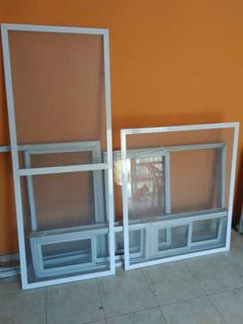 Ventanas de aluminio .mosquiteras