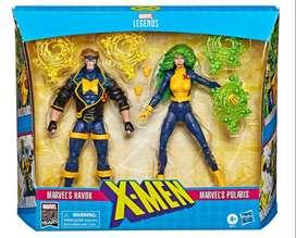 2-pack Marvel Comics 80th Anniversary Legends Havok y Polaris