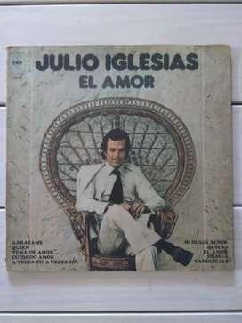 Lp Vinilo Julio Iglesias El Amor ( Ver Descuentos)