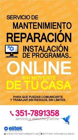 Asistencia técnica y reparación vía web
