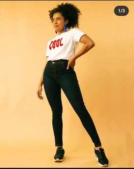 Jeans control de abdomen