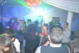 DJ Disc Jockey Profesional - Iluminacion Laser Led Efectos Humo - todo tipo de eventos