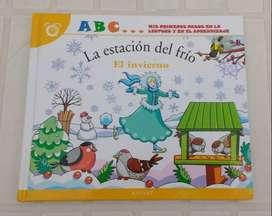 Libro infantil La estación del frío Editorial Salvat