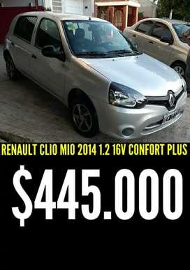 RENAULT CLIO MIO 2014 1.2 16V FULL 5 PUERTAS